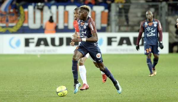Junior Sambia v drese Montpellieru.